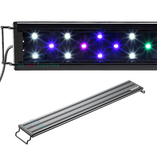 AQUANEAT Aquarium Light Multi-Color Full Spectrum Marine FOWLR 12 20 24 30 36 0.5W LED