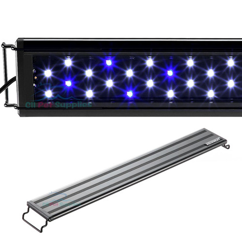 AQUANEAT Aquarium LED Light Marine FOWLR Blue & White 12 20 24 30 36 Inch