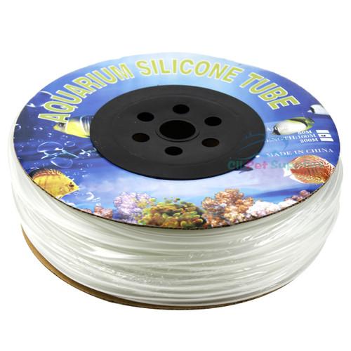 """Aquarium Silicone Air Line Tubing for Fish Tank Air Pump 3//16/"""" Standard 25ft"""