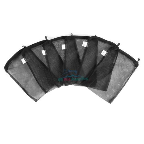 Filter Media Mesh Bags Plastic Zipper Reusable for aquarium fish tank koi pond
