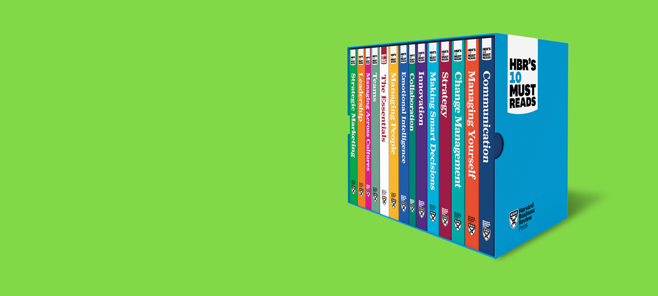 HBR's 10 Must Reads Box Set offers essential reading on topics critical to the success of every manager.