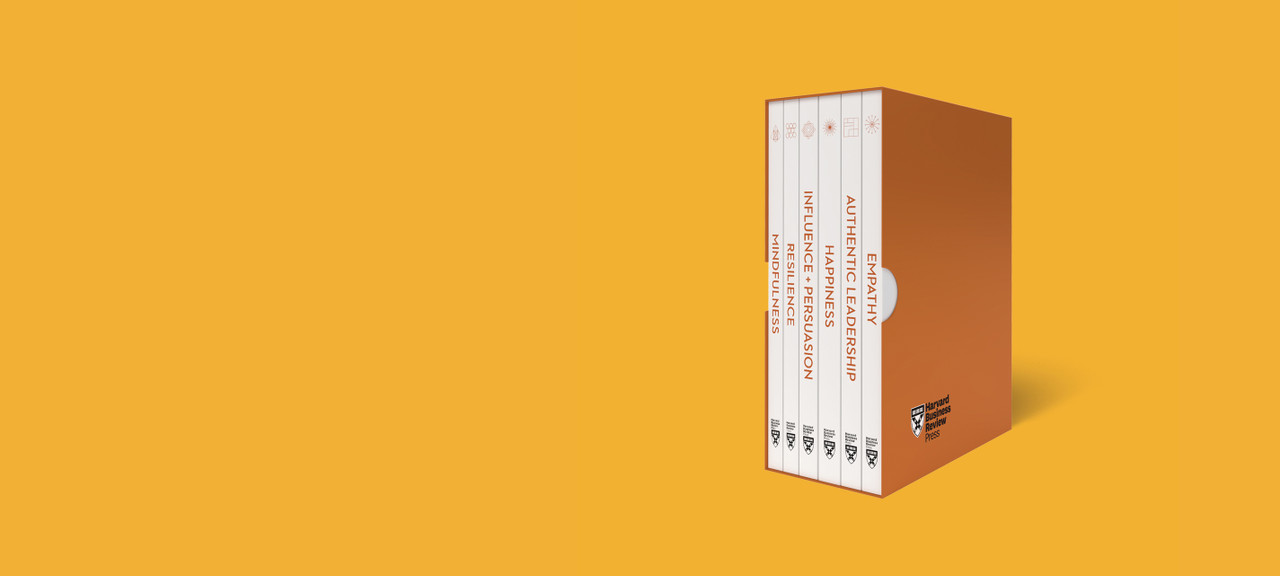 Boost Your Emotional Intelligence with HBR's bestselling series.