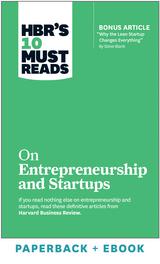 HBR's 10 Must Reads on Entrepreneurship and Startups (Paperback + Ebook) ^ 1057BN