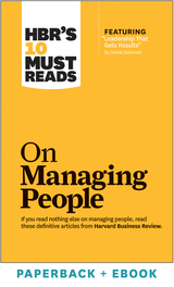 HBR's 10 Must Reads on Managing People (Paperback + Ebook) ^ 1036BN