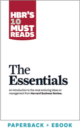 HBR'S 10 Must Reads: The Essentials (Paperback + Ebook) ^ 1041BN