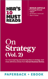 HBR's 10 Must Reads on Strategy, Vol. 2 (Paperback + Ebook) ^ 1099BN