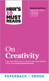 HBR's 10 Must Reads on Creativity (Paperback + Ebook) ^ 1111BN