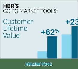 HBR's Go to Market Tools: Customer Lifetime Value ^ GTM3TL