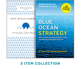 "Blue Ocean Strategy with Harvard Business Review Classic Article ""Blue Ocean Leadership"" (2 Books) ^ 10178"
