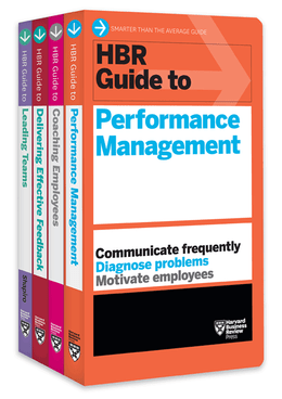 HBR Guides to Performance Management Collection (4 Books) (HBR Guide Series) ^ 10182