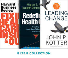Leadership, Strategy, and Innovation: Health Care Collection (8 Items) ^ 10047