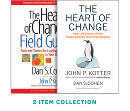 Successful Organizational Change: The Kotter-Cohen Collection (2 Ebooks) ^ 10054