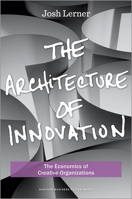 The Architecture of Innovation: The Economics of Creative Organizations ^ 10796
