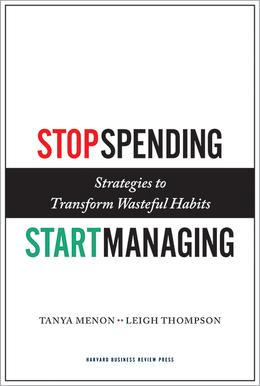 Stop Spending, Start Managing: Strategies to Transform Wasteful Habits ^ 10734