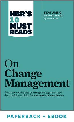《哈佛商业评论》10必读之变革管理(平装+电子书)^ 10290亿