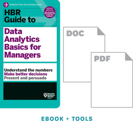 HBR Guide to Data Analytics Basics for Managers Ebook + Tools ^ 10232