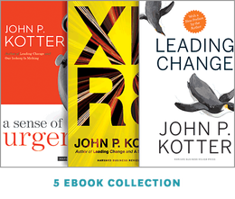 Change Leadership: The Kotter Collection (5 Ebooks) ^ 14182E