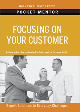 Focusing on Your Customer ^ 13287