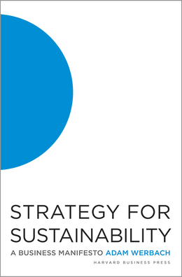 Strategy for Sustainability: A Business Manifesto ^ 12169