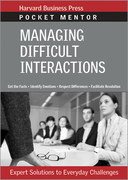 Managing Difficult Interactions ^ 2508
