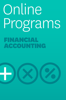 Financial Accounting: A Self-Paced Learning Program: Introductory Section ^ 4001HB