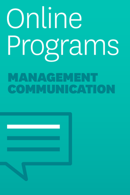 Management Communication Self-Paced Learning Program: Writing Section ^ 4341HF