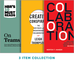 Breakthrough Collaboration Collection: How to Foster Teams That Get Results (2nd Edition) ^ 7405BN