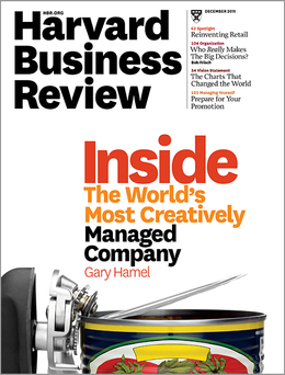 Harvard Business Review, December 2011 ^ BR1112