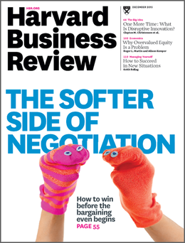 Harvard Business Review, December 2015 ^ BR1512