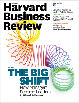 Harvard Business Review, June 2012 ^ BR1206