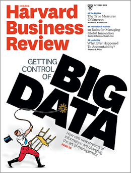 Harvard Business Review, October 2012 ^ BR1210