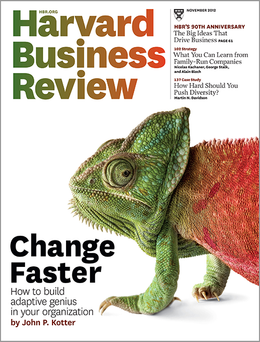 Harvard Business Review, November 2012 ^ BR1211