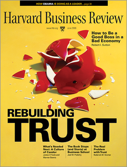 Harvard Business Review, June 2009 ^ BR0906