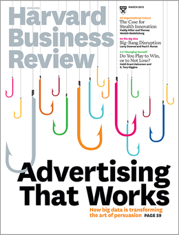 Harvard Business Review, March 2013 ^ BR1303