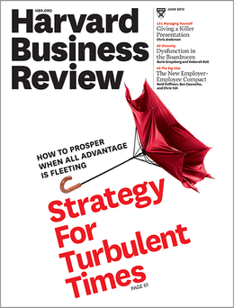 Harvard Business Review, June 2013 ^ BR1306