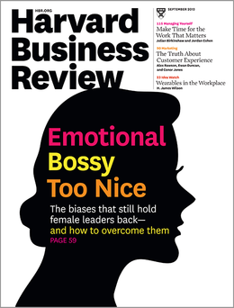 Harvard Business Review, September 2013 ^ BR1309