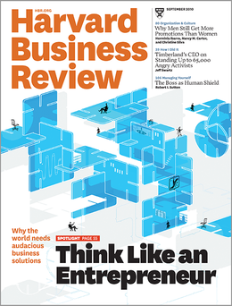 Harvard Business Review, September 2010 ^ BR1009