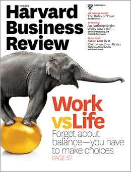 Harvard Business Review, March 2014 ^ BR1403