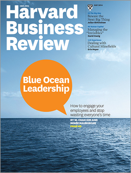 Harvard Business Review, May 2014 ^ BR1405
