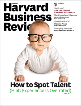 Harvard Business Review, June 2014 ^ BR1406