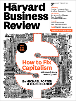 Harvard Business Review, January/February 2011 ^ BR1101