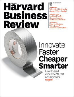 Harvard Business Review, December 2014 ^ BR1412