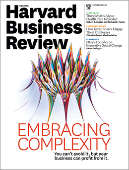 Harvard Business Review, September 2011 ^ BR1109