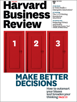 Harvard Business Review, May 2015 ^ BR1505