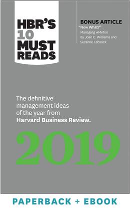 《哈佛商业评论》10大必读书目:《2019:年度权威管理理念》,来自《哈佛商业评论》(平装+电子书)^ 10710亿