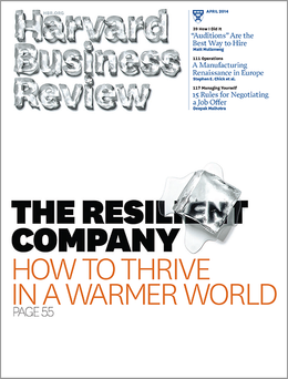 Harvard Business Review, April 2014 ^ BR1404