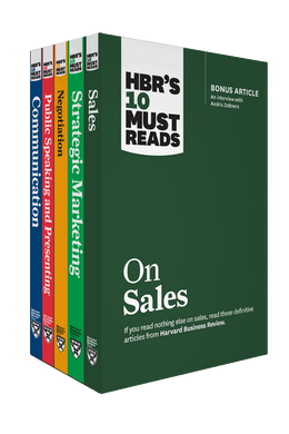 HBR's 10 Must Reads for Sales and Marketing Collection (5 Books) ^ 10374