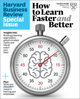How to Learn Faster and Better (HBR Special Issue) ^ SPWI19