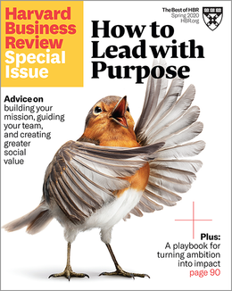 How to Lead with Purpose (HBR Special Issue) ^ SPSP20