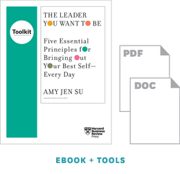 The Leader You Want to Be: Tools for Bringing Your Best Self to Work ^ 10418